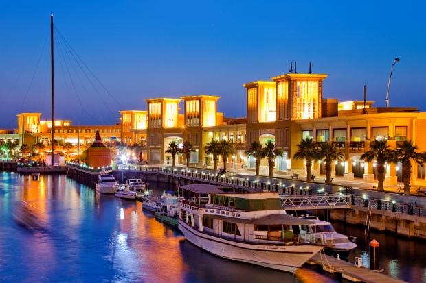 Kuwait - shopping area