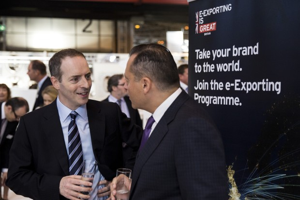 Lord Livingston at e-Exporting launch