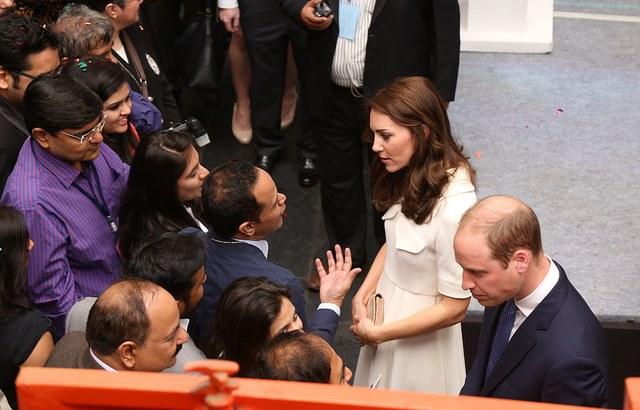 Duke and Duchess speak to young entrepreneurs in Mumbai