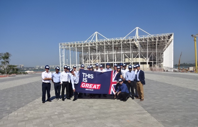 UKTI Olympics and Paralympics 2016 Sports Market Visit to Rio, August 2015