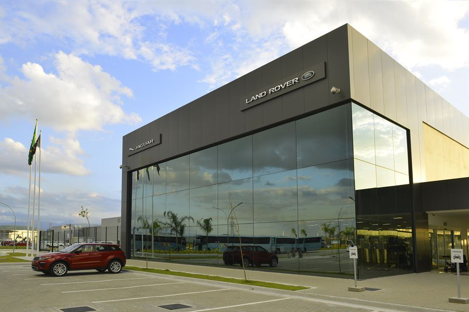 Jaguar Land Rover's first fully owned factory outside the UK in Itatiaia, Brazil